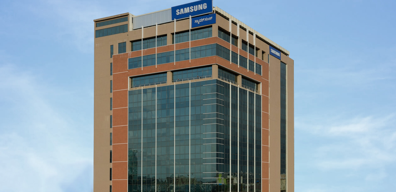 Samsung R&D Institute India-Bangalore building