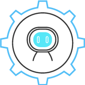 It is the robot icon.