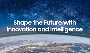 Background menu image - Vision & Mission. Shape the Future with Innovation and Intelligence