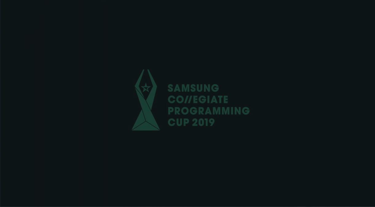 SAMSUNG COLLEGIATE PROGRAMMING CUP 2019 - scpc sketch video