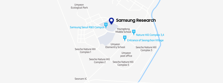 Seoul R&D Campus Map