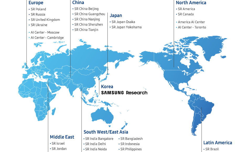 Global R&D Network Map
