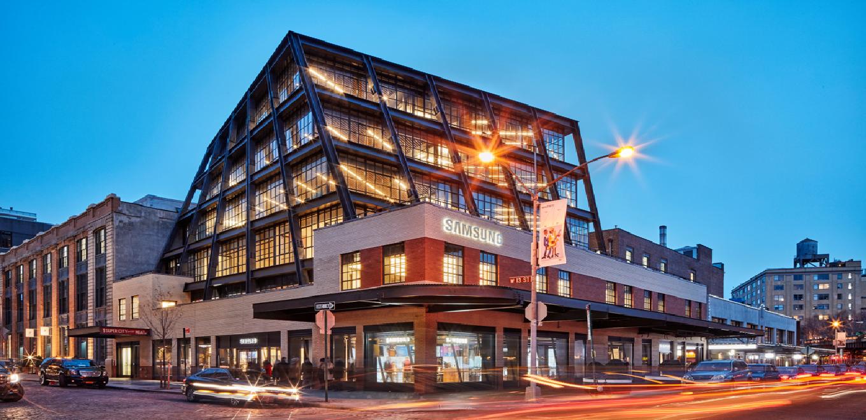 AI Center - New York building