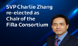 SVP Charlie Zhang re-elected as Chair of the FiRa Consortium.