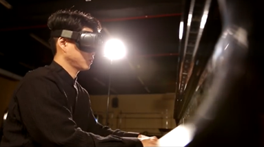 See How Samsung's Relúmĭno App Helped a Talented Pianist Prepare for His Big Debut