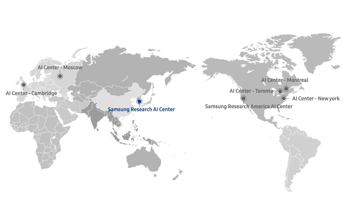 Samsung Research AI Center Map